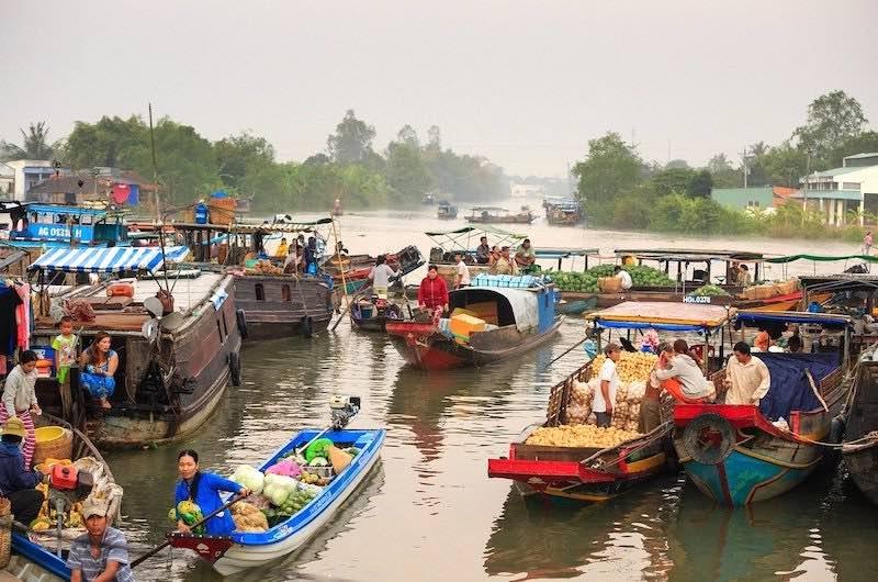 Vietnam en 15 dias Delta del Mekong