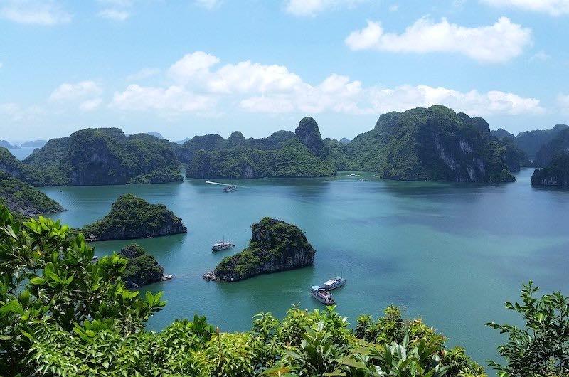 La bahia de Halong Vietnam